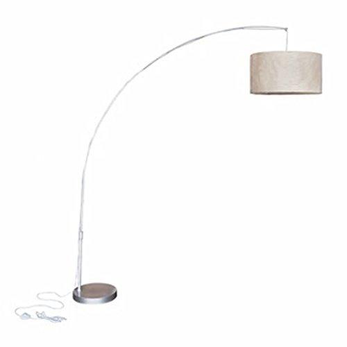 vidaXL Lampe Suspension 192 cm Arc Salon Chambre à Coucher Éclairage Lumière