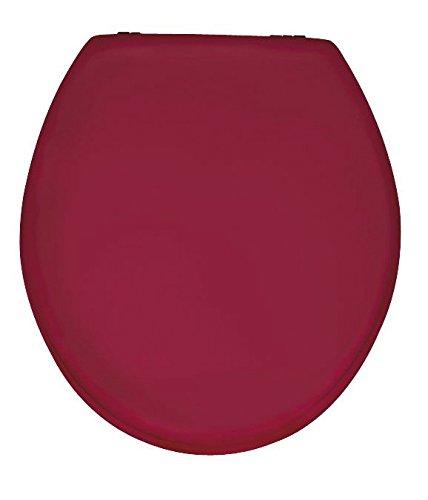 wenko-152201100-abattant-prima-rouge-brillant-mdf