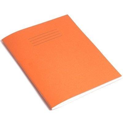 Quaderno a righe arancione 203x 165mm 8mm