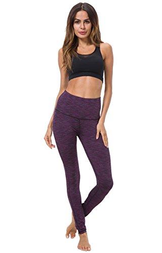 Queenie Ke - Legging de sport - Femme Space Dye Purple