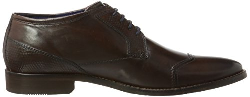 Daniel Hechter Herren 812175071000 Derbys Braun (Dark Brown)
