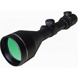 Lunette de visée Seben Black Anaconda 4-12x56 + réticule lumineux + vaporisation minérale verte