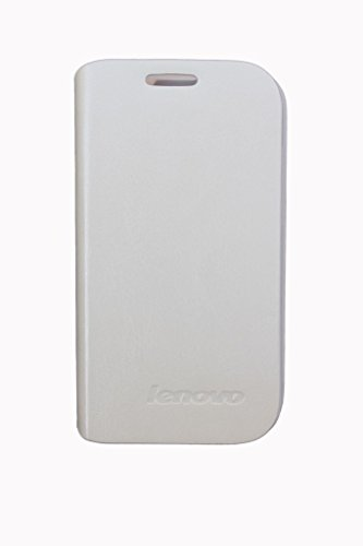 Cherry Flip Cover Case with Stand View For Lenovo A269i - White  available at amazon for Rs.99