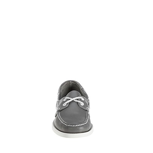 Sebago Docksides 727-22WW Hommes Grey Leather