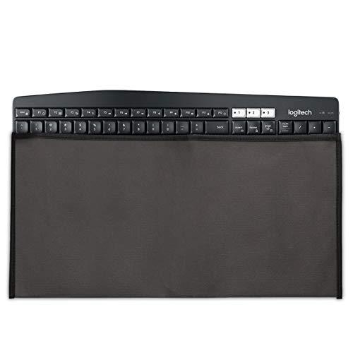 kwmobile Universal Keyboard Hülle - PC Tastatur Schutzhülle für Universal Keyboard - Keyboard Staub Cover Case - Dunkelgrau
