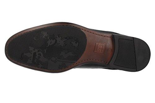 520347 Fretz homme, chaussures basses homme Noir - Noir