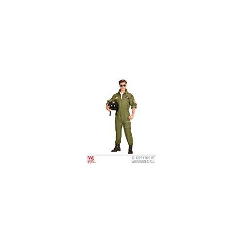 Kampfjet Pilot Kostüm - Piloten Verkleidung Gr. M - Kampfflieger Gr. M