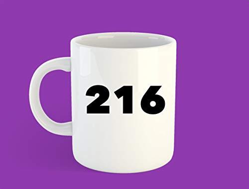 216 Mug, Cleveland Mug, Cleveland Gift, Ohio Gift, 216 Gift - 11 OZ Coffee Mugs
