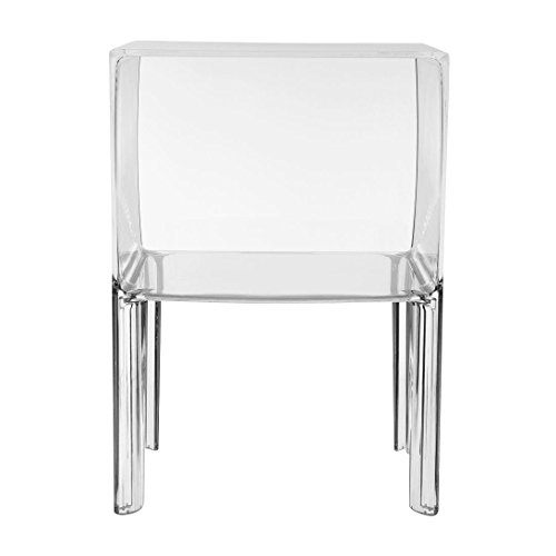 Kartell 3220B4 Table de nuit Small Ghost Buster (Transparent)