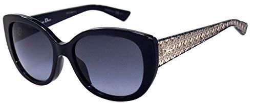 Dior Sonnenbrille / Sunglasses DiorLady1A SLVHD 55[]17 140 + Etui