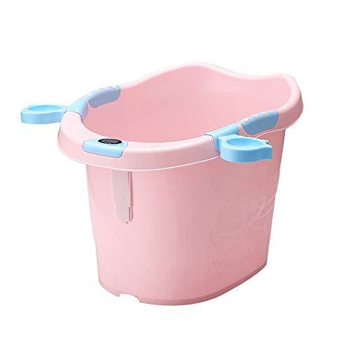 WFyoupool Bañera For Bebés: Liviana Y Robusta, Ideal For Un Fácil Almacenamiento con Una Tina Flexible De Usos Múltiples Grande Juguetes de Verano interesantes (Color : Pink)