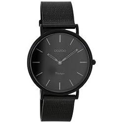 """Damen Uhr """"Ultra Slim Vintage C7730"""" schwarz"""
