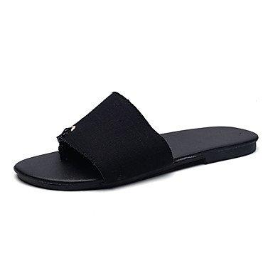 Slippers & amp da uomo;Estate Comfort Denim Casual Sandali Grigio Nero sandali US10 / EU43 / UK9 / CN44