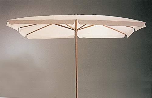 CAPALDO Sonnenschirm aus Holz cm. 300x 300