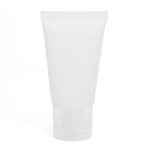 KING DO WAY 10 Stück 30 ml Leerflasche für Kosmetik Make Up Gesicht Creme Kunststoff