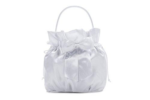 Frühlings-SALE! Brauttasche Abendtasche festliche Tasche Weiß/Beutel