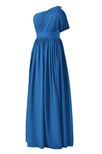 daisyformals Vintage longue robe de demoiselle d'honneur robe de demoiselle d'honneur W/sangle (bm281l) Bleu - #37-Royal Blue