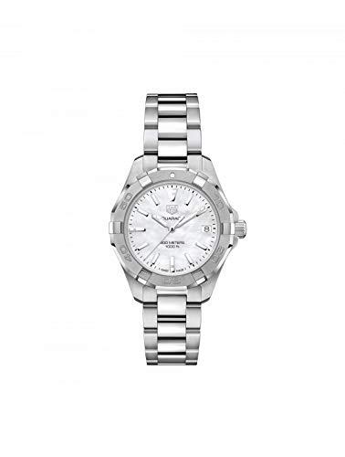 Tag Heuer Aquaracer da donna 32mm bracciale in acciaio orologio al quarzo WBD1311.BA0740