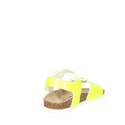 Grunland SB0018-40(48) Sandale Fille Jaune-Fluo