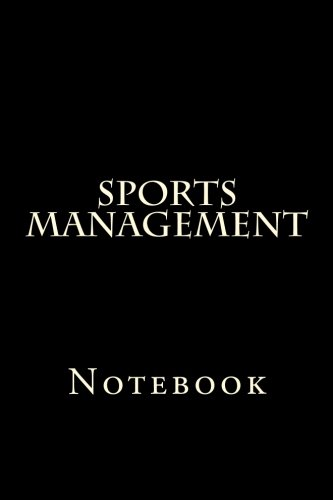 Sports Management: Notebook por Wild Pages Press