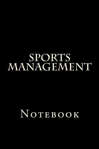 Sports Management: Notebook por Wild Pages Press