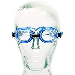 Aqua-Speed ® Lumina, Lunettes de natation avec dioptries de -1,5 à -8,0 / UVA/UVB de 100 %, Hauteur:-3.0;Model:Lumina / bleu / teinté