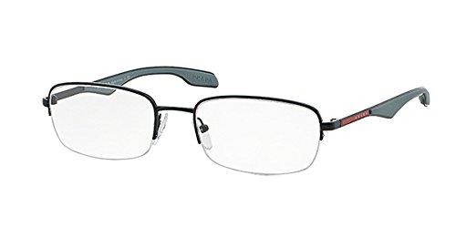 Prada Linea Rossa Montures de lunettes Pour Homme 51E/V - 7AX-1O1: Black - 54mm