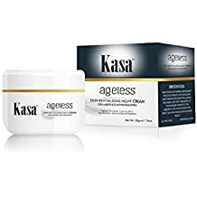 Kasa Cream Anti Wrinkle Night Cream Revitalizing Skin Tightening Cream with Collagen & Elastin Booster Anti Ageing 50gms