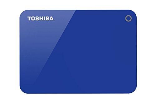 Toshiba HDTC910AL3AA Canvio Advance 1TB USB3.0 External Hard Drive (Blue)