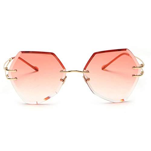 XCTY Sonnenbrillen Sonnenbrille Frauen Vintage Frau Gradient Eyewear Für Damen Lentes