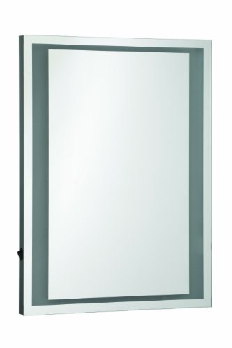 Premier Housewares Oran – Espejo de pared iluminado
