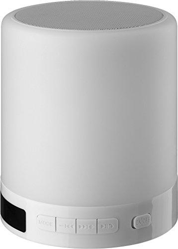 0 SLS-1 Bluetooth-Lautsprecher mit integrierter Smart-Touch-Beleuchtung weiß ()