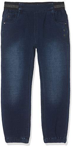 NAME IT Baby-Mädchen Nmfrie Dnmtorina 3245 SWE Pant Jeans, Blau (Dark Blue Denim Dark Blue Denim), (Herstellergröße: 80)