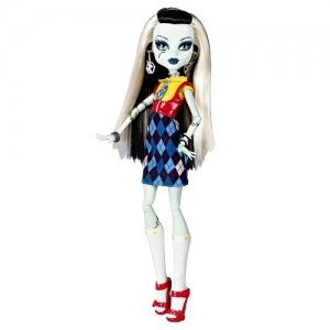 Monster High X4491 Frankie Stein Daughter of Frankenstein - inkl. 2 - High Monster Love I Fashion