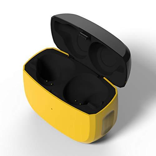Cas de Charge de Remplacement Compatible avec Jabra Elite Active 65t et Jabra Elite 65t,Cache de Protection pour écouteurs sans fil avec Batterie intégrée ( écouteurs non inclus)