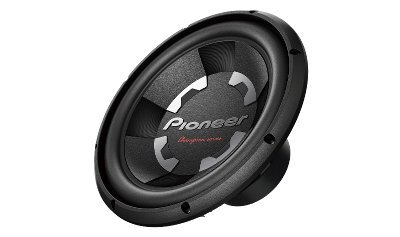 Pioneer Champion TS-W120S4 12-inch Single Voice Coil Subwoofer (Black)