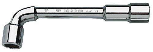 Facom 75,17 Clé à Pipe Débouchées 6 X 6 Pans-17 Mm