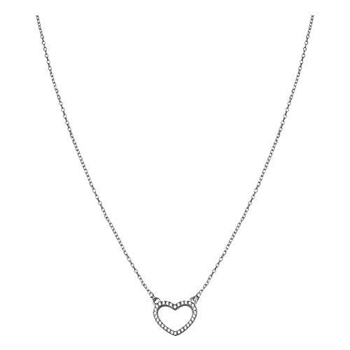 SOFIA MILANI Damen Halskette Herz Anhänger Silber 50162