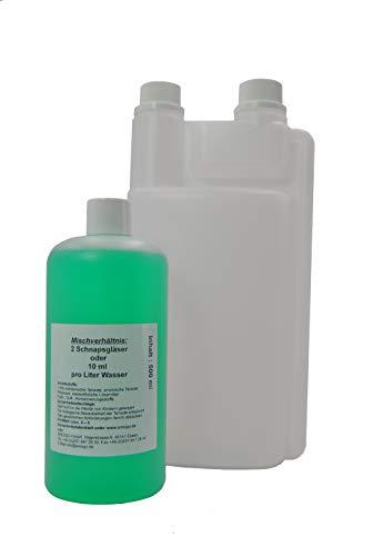 FSProdukte Set Wischpflege Reiniger Hochkonzentrat Glanzwischpflege Glanz Pflege geeignet für Vorwerk SP 520 530 Plus Dosierflasche