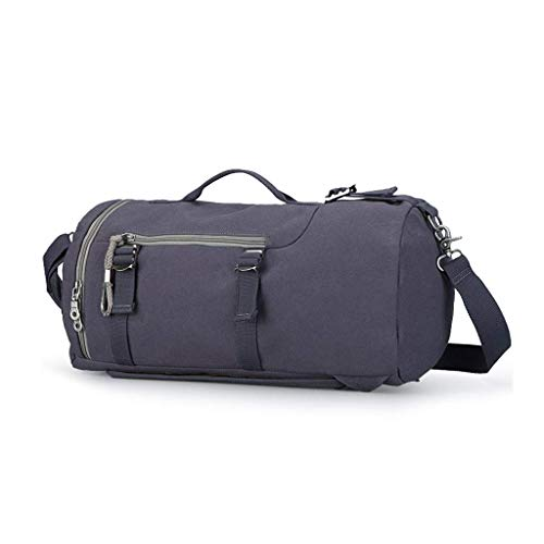 Yuang Sport-SeesackSport-Fitness-Tasche Schmutzige Reisetasche Tragbare Einkaufstasche Rucksack Audio-Interface Große Kapazität Braun 22 *   27 * 45 cm (Farbe: Blau) Diagonale Audio