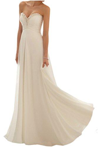 Promgirl House - Robe - Trapèze - Femme Blanc - blanc