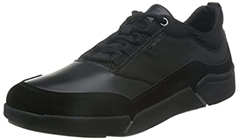 Geox Mens Ailand A Walking Shoe, Black (Black/BLACKC0539), 10.5 UK-11 UK D(M)
