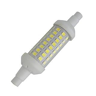 Aoxdi 1X R7S LED Bulb Lighting 5W, Cool White, 78mm SMD 2835 LED Ceramic Light Bulb, 78mm R7S LED Lamp, AC220-240V
