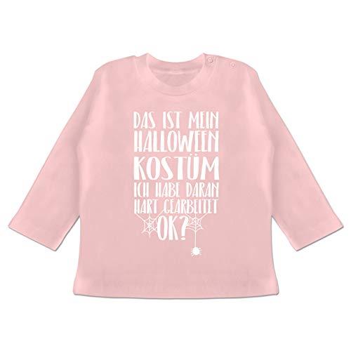 Anlässe Baby - Das ist Mein Halloween Kostüm - 18-24 Monate - Babyrosa - BZ11 - Baby T-Shirt ()