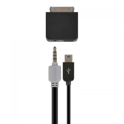 Incipio Technologies IP-613 BigShow Audio-Video USB-Adapter (30-polig Stecker auf micro-USB Buchse) für Apple iPad/iPhone/iPod