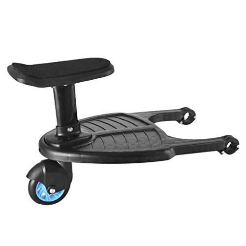 TuHao88 Buggy Board Kinderwagen Kinder Sicherheit Komfort Trittbrett bis zu 25 kg (Blau)