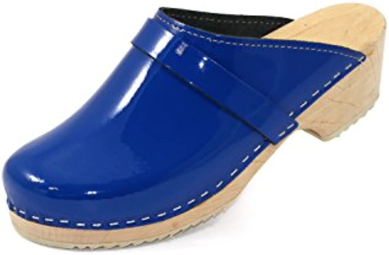 Homme / femme Original tres schwedenclogs bleu Divers brillantB00GMVS5RQParent Divers bleu styles Belle apparence Best-seller 8d351e