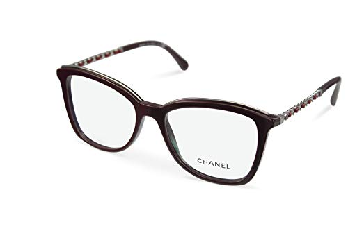 CHANEL Brillenfassung Brille CH 3351-Q c1461 burgundy red (53-17)