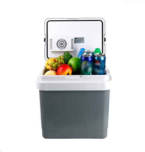 FENG Kompressor-Kühlbox für Normal- und Tiefkühlung, 25 Liter, für Auto, LKW und Steckdose