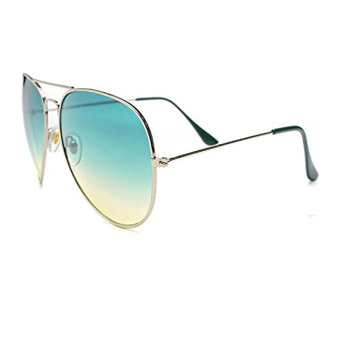UV Protected Stylish Aviator Sunglasses for Girls and Boys ( Green-Gredient ) ( YS-AVSG-11 )  available at amazon for Rs.249